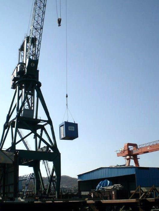 Отгрузка и транспортировка блочно-модульных очистных сооружений
