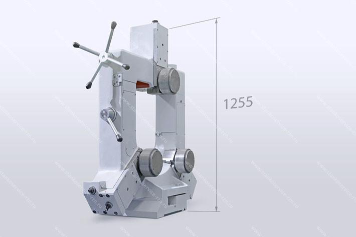 Люнет роликовый закрытый для обработки деталей диаметром от 100 до 400 мм