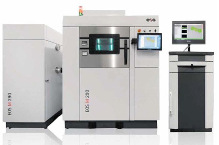 Для печати го товых изделий с применением создаваемых в Компании порошков РУСАЛ использует промышленный 3D-принтер EOS M290