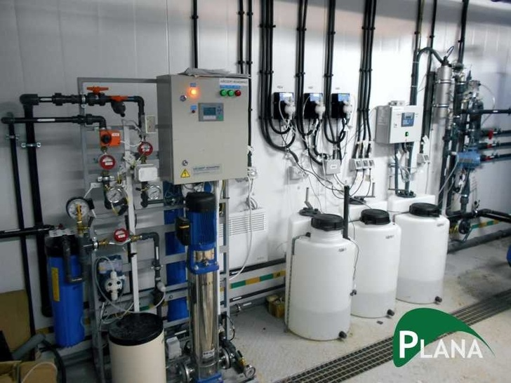 Оборудование станции водоподготовки
