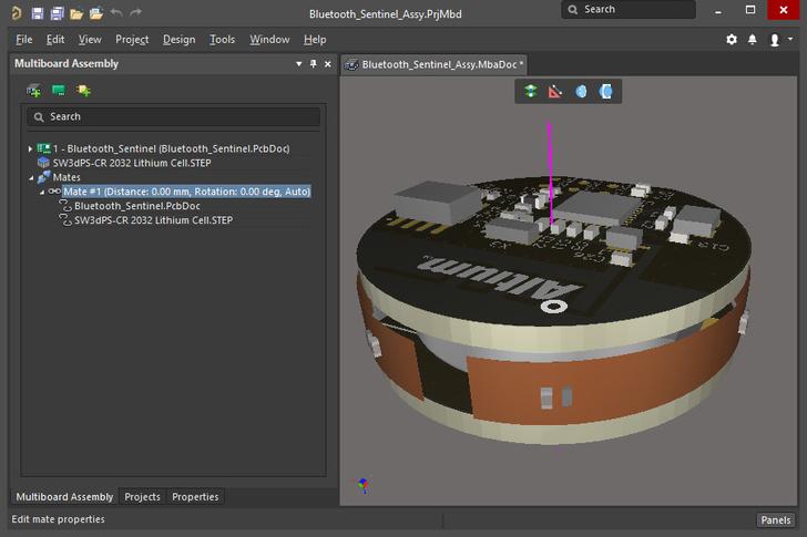 В новой версии AltiumDesigner 3D-моделирование базируется на российском геометрическом ядре C3D