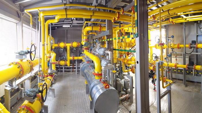 Технологический зал многофункциональной установки для подготовки попутного газа
