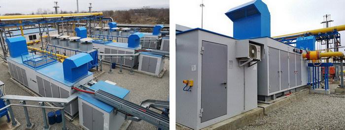Дожимная компрессорная станция обеспечивает топливным газом турбины Грозненской ТЭС
