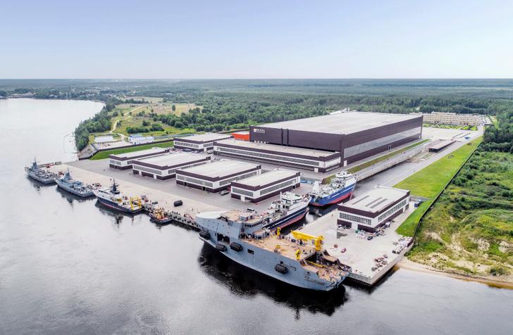 Одобрен проект строительства нового судостроительного комплекса «Пеллы»
