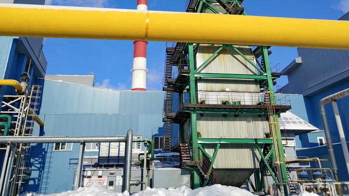 Газотурбинная электростанция ГТЭС-25П