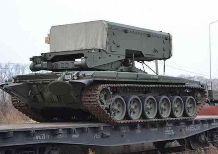 В Ленинградской области сформировано подразделение тяжёлых огнемётных систем ЗВО