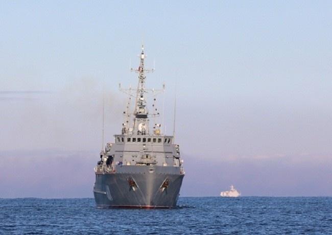 К заводским ходовым испытаниям приступил корабль противоминной обороны «Владимир Емельянов»