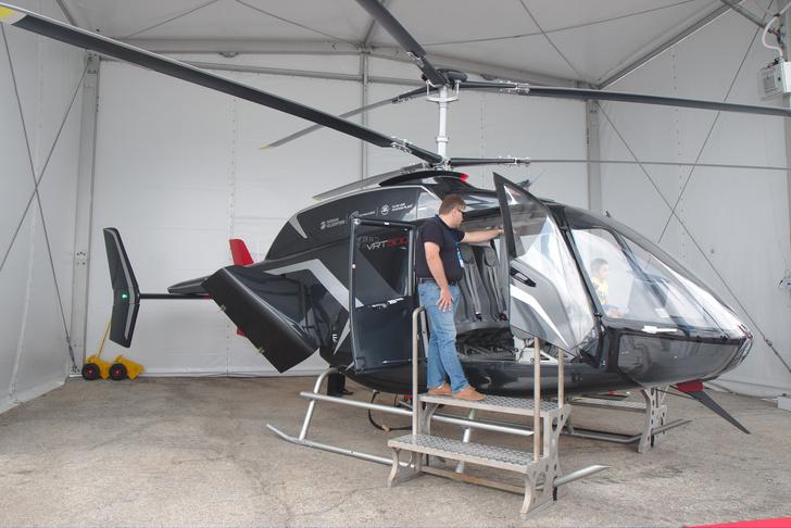 Вертолет VRT500 наГидроавиасалоне-2018