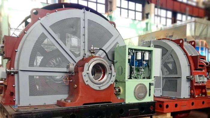 Гидрогенераторы для Барсучковской малой гидроэлектростанции