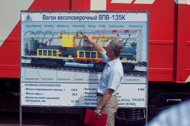 в июле 2012 года на производственной площадке Корпорации «АСИ» состоялась приемка метрологического оборудования и технического оснащения весоповерочного вагона нового поколения ВПВ-135К