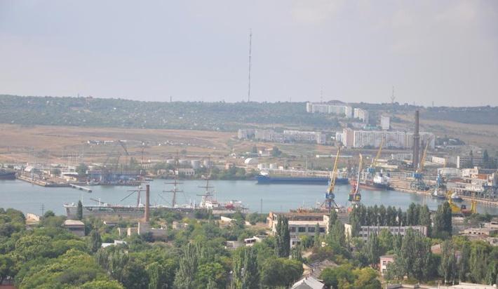 Керченский морской рыбный порт