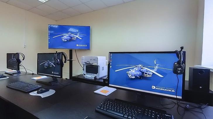 ЦНТУ «Динамика» поставила учебный компьютерный класс для подготовки экипажей вертолета Ми-28Н