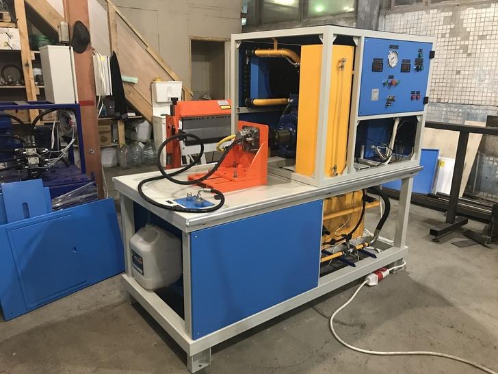 НПО ГИС спроектировало, разработало и поставило новый стенд для испытаний гидронасосов СГН-30Н-ГИС