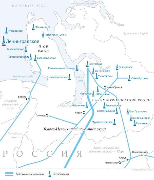 Ямальский центр газодобычи
