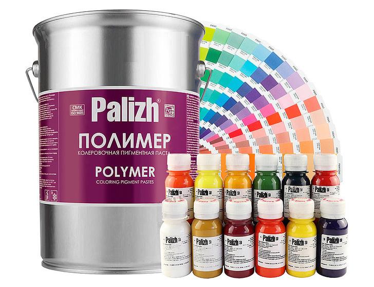 Пигментные пасты для производства цветных полимерных изделий