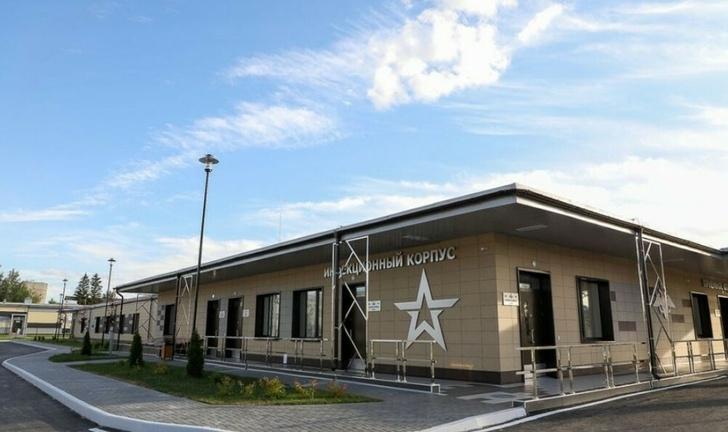 В Пензе введён в эксплуатацию инфекционный корпус нового военного госпиталя