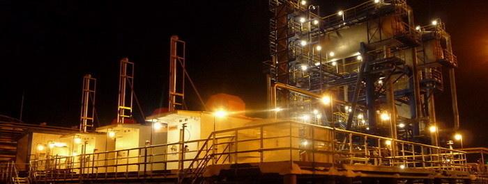 Установка подготовки нефти Варандейского м/р (ЛУКОЙЛ-Коми). Компрессорная станция низкого давления «ЭНЕРГАЗ» надежно работает в условиях Заполярья