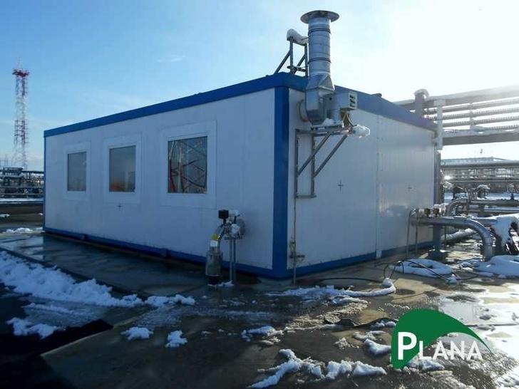 Блочно-модульная станция очистки производственно-дождевых сточных вод