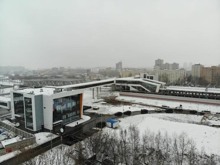 Пересадочный узел открыли в Москве между станцией МЦК «Лихоборы» и платформой НАТИ