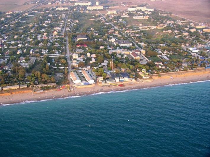 Николаевка-ближайший к Симферополю морской курорт.