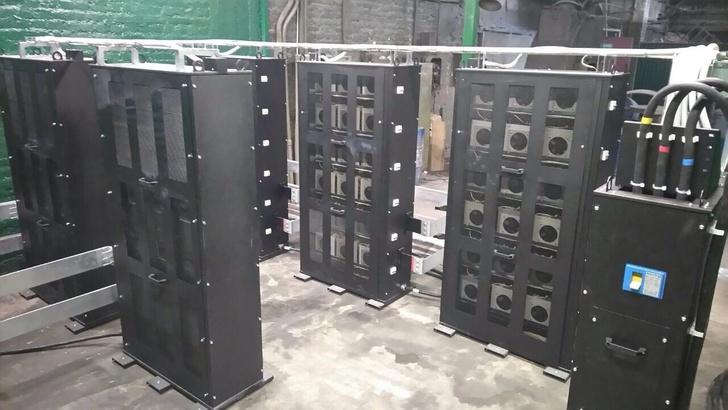 ООО «ЗТИ» разработал и поставил источник тока на 16кА для модернизации электроплавильной установки