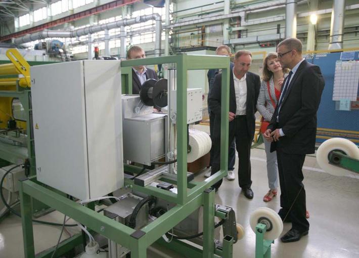 в июле 2014 года ОАО «Чепецкий механический завод» с рабочим визитом посетил руководитель группы международной организации ИТЭР Арно Девре