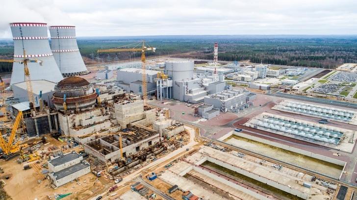 Введён в промышленную эксплуатацию 1-й энергоблок с реактором ВВЭР-1200 Ленинградской АЭС-2