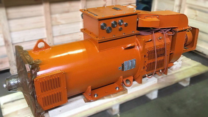 Взрывозащищенный асинхронный двигатель «Русэлпром» для СВП буровых установок