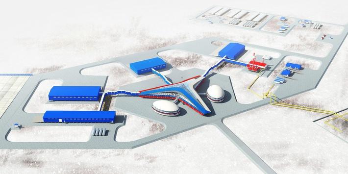 Типовой проект автономного арктического военного городка