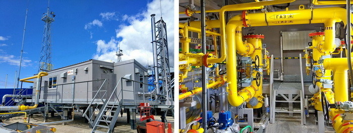 Установка подготовки ПНГ в составе газопоршневой электростанции Барсуковского месторождения