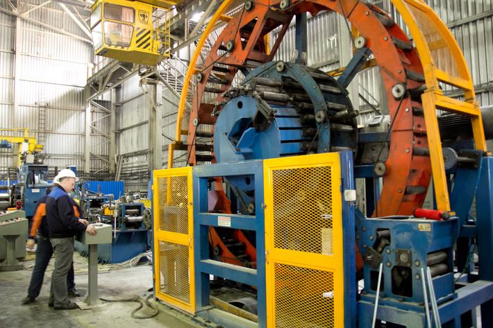 производство Королёвского трубного заводая на территории Ивантеевки