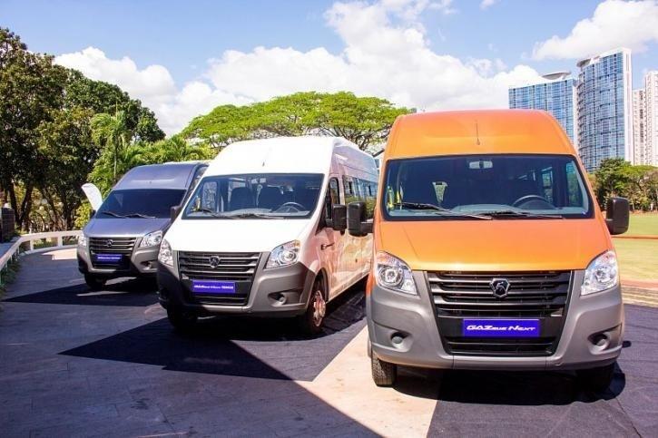 Российские микроавтобусы осваивают рынок Филиппин