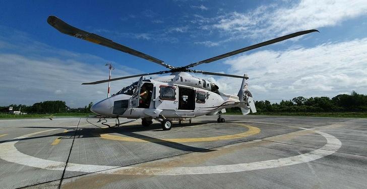 Многоцелевой вертолет среднего класса Ка-62 © Роман Азанов/ТАСС