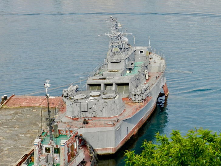 "МПК ""Владимирец"" без АУ АК-630. Фото из архива В.Никифорова"
