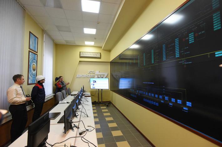новая диспетчерская Усть-Хантайской ГЭС