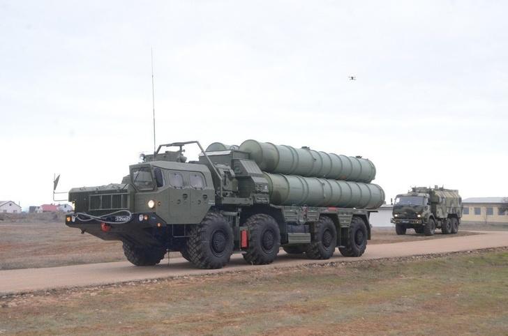 В объединение ВВС и ПВО ВВО в Хабаровском крае поставлена зенитная ракетная система С-400