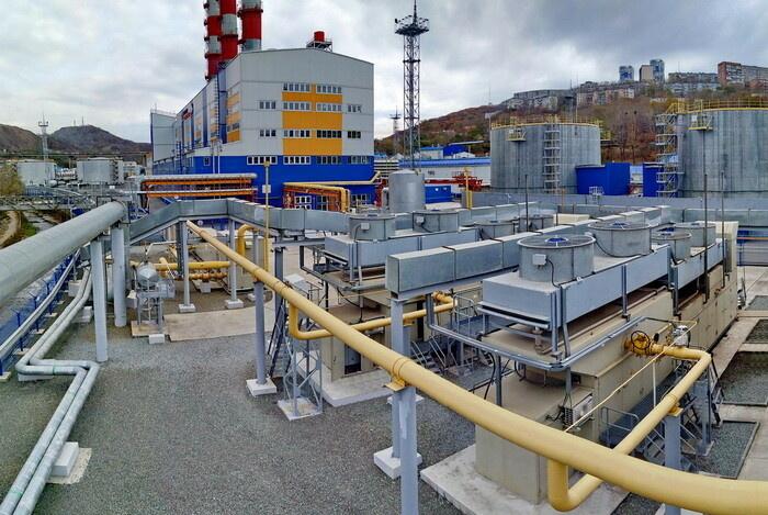 Система подготовки газового топлива для турбин ГТУ-ТЭЦ «Восточная»
