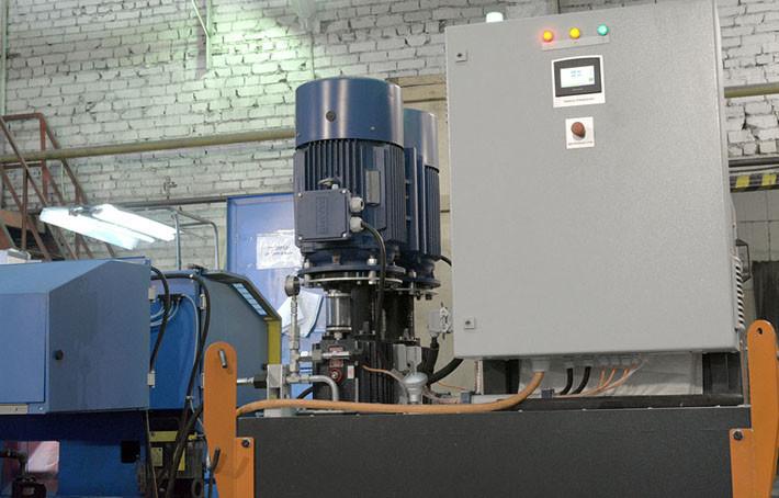 Гидростанция с рабочим давлением 2x150 Бар