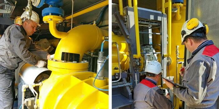 Плановое техобслуживание оборудования газоподготовки на ГТУ-ТЭЦ «Восточная»
