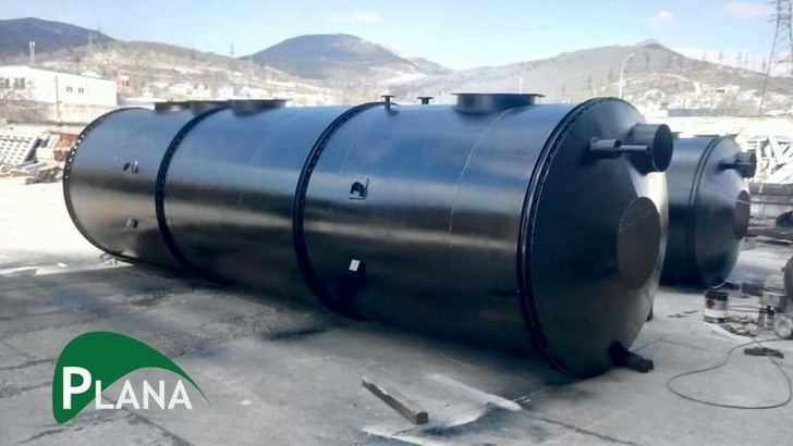 Резервуары-усреднители нефтесодержащих стоков