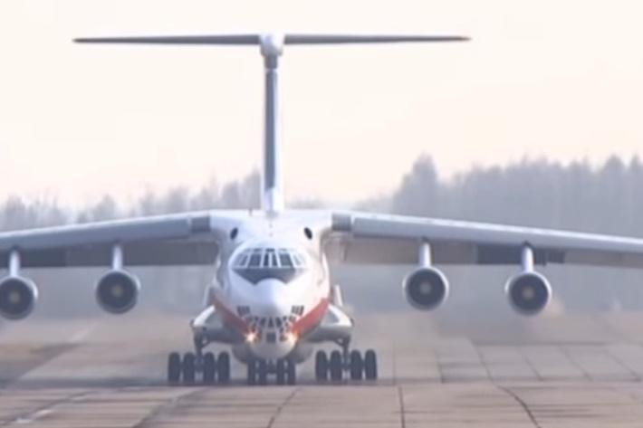 В Рязани усовершенствовали самолет Ил-76 для ВВС Белоруссии