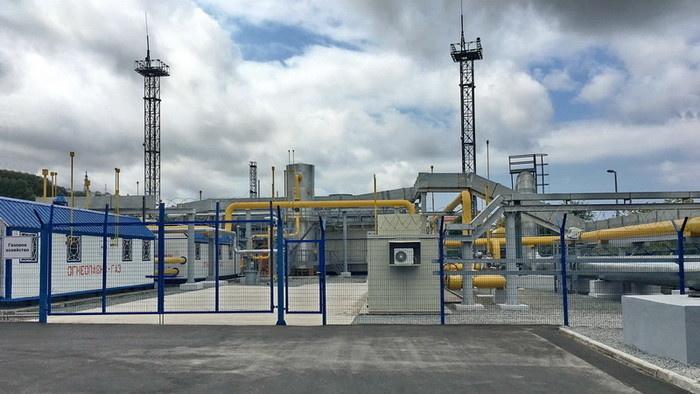 Система газоподготовки расположена на площадке газового хозяйства ГТУ-ТЭЦ «Восточная»