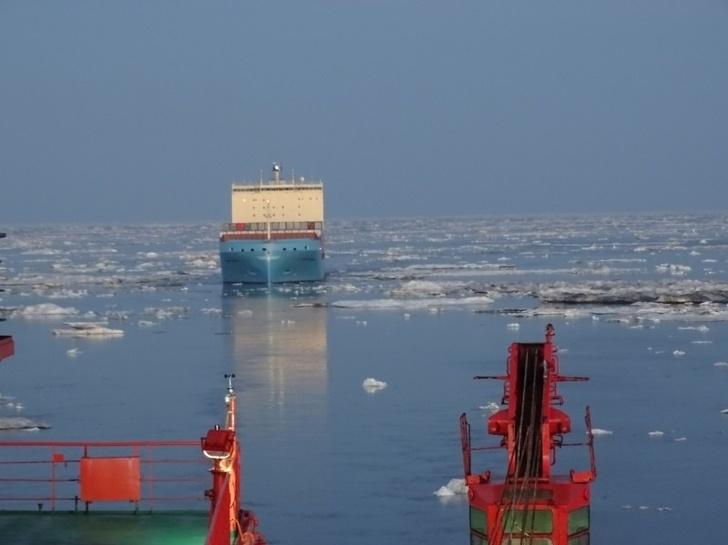 Росатомфлот провел 70 судов за время летне-осенней навигации