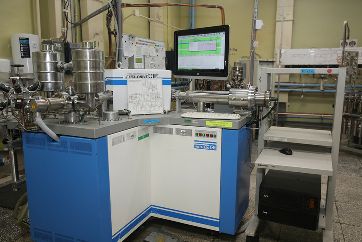 Масс-спектрометр МТИ-350ГМ определяет изотопный состав обогащенного урана