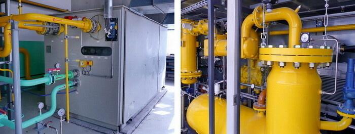 Компрессорная установка топливного газа