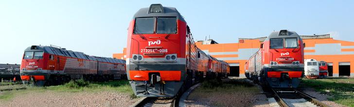 C начала года на СКЖД поступило 15 локомотивов 2ТЭ25КМ