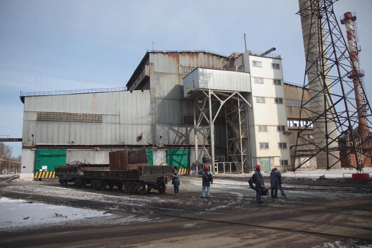Мартеновский цех на Выксунском металлургическом заводе