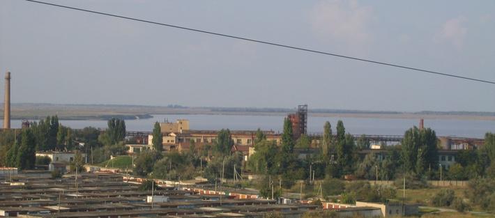 Корпуса бромного завода