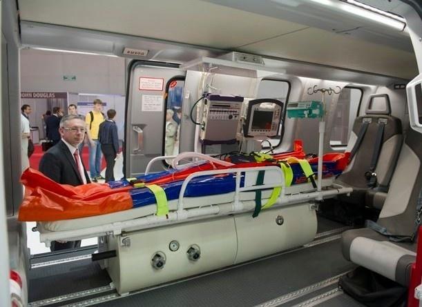 """""""Вертолеты России"""" представили медицинские вертолеты в Китае"""