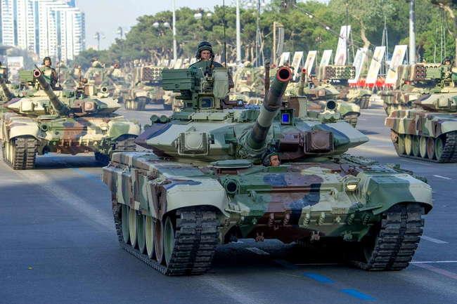 Т-90С в Азербайджане